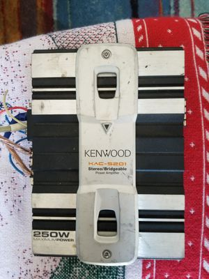 Kenwood 250 Watt Amplifier. $50 FIRM. Pickup in Oakdale for Sale in Oakdale, CA
