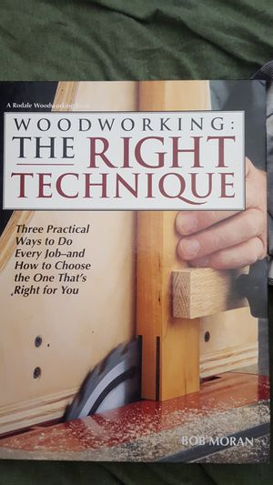 Two woodworking books for Sale in Livermore, CA