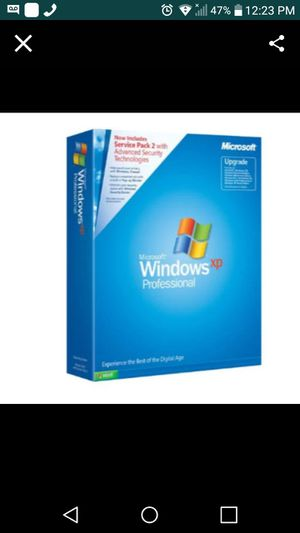 Microsoft Windows professional xp for Sale in White Plains, NY