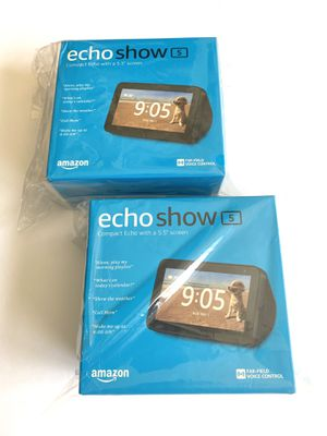 Echo Show 5 – Compact smart display with Alexa - Charcoal for Sale in Boynton Beach, FL