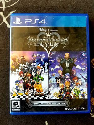 Kingdom Hearts 1.5 + 2.5 Remix (PS4) for Sale in San Bernardino, CA