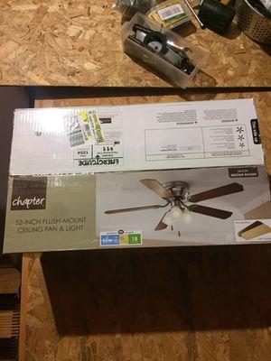 *Brand New* 52-Inch Ceiling Fan & Light for Sale in La Vergne, TN