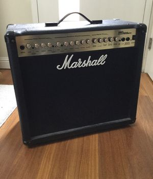 100 Watt Marshall guitar combo amplifier in good condition. Does not have a power cord. Retails for $500 new, I will sell it for $80. I just moved an for Sale in San Francisco, CA
