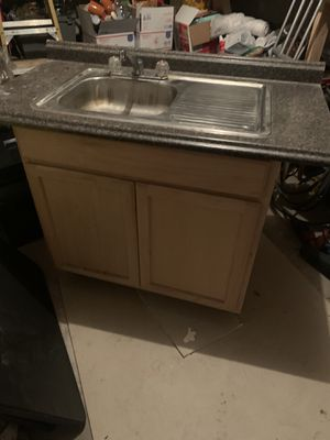 Faucet with cabinet remodel for Sale in San Antonio, TX