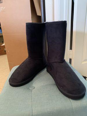 Blue Fleece Boots for Sale in Miami, FL