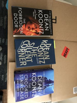 Dean Koontz books signed by author for Sale in Pismo Beach, CA