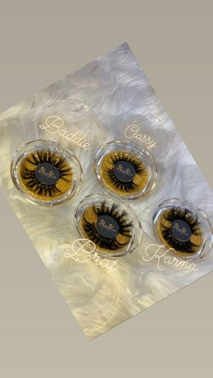 REAL Mink Lashes (Style:Baddie) for Sale in Lemon Grove, CA