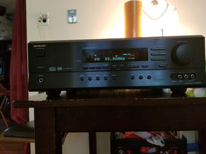 Nice onkyo Reciever for Sale in Staten Island, NY