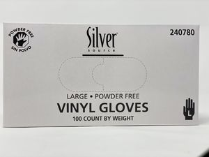 Disposable Gloves Vinyl 100 Count, Powder Free for Sale in Hollywood, FL