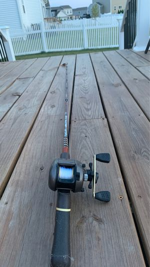 RARE Vintage Fishing Pole with bait caster! for Sale in Hilliard, OH
