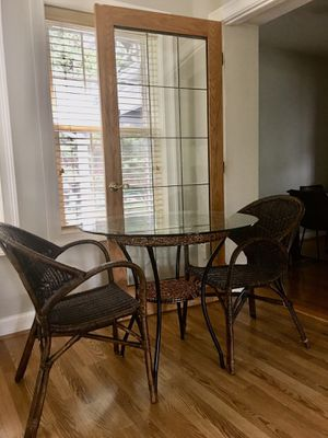 Breakfast Table + 2 Chairs for Sale in Falls Church, VA
