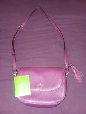 Maroon Kate Spade purse for Sale in Rustburg, VA