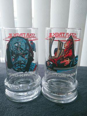 2 Star Trek III Glasses for Sale in Norwich, CT