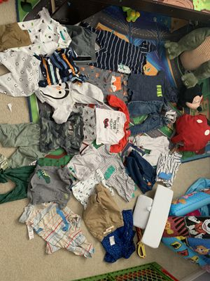 Baby boy clothes in great condition some with tags for Sale in Perris, CA