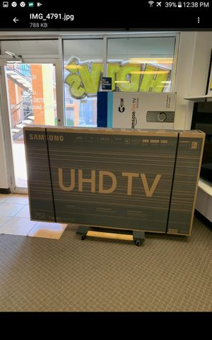 75 led smart Samsung 4k HDTV like new in box comes with 6 month warranty Ask us about our different $$$$$$ options for Sale in Phoenix, AZ