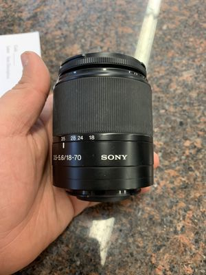 Sony camera lens for Sale in Austin, TX