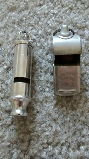 The Acme Thunderer Whistle made in England and other misc. One vintage for Sale in Perris, CA