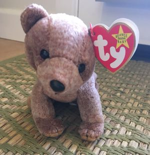 """Ty Beanie Baby """"Pecan"""" Bear for Sale in Los Angeles, CA"""