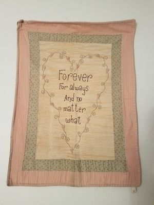 Big Vintage quilt wall hanging for Sale in Peoria, AZ