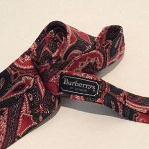 Burberry of London men's classic necktie for Sale in Cathedral City, CA