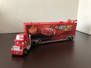 Lightning McQueen Semi Truck with Cars for Sale in Canyon Country, CA
