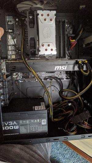 MSI Gaming PC i3 9100f GTX 980 MSI b360m Pro 500GB SSD 16GB DDR4 RAM Workstation Computer Custom Build for Sale in Houston, TX