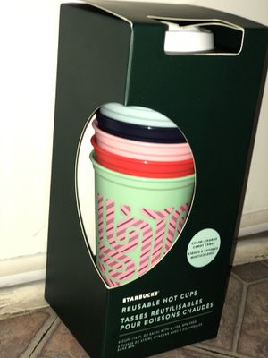 Starbucks color changing cups 2020 holiday collection for Sale in Fontana, CA