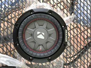 """Kicker Comp RT67 6.75"""" 2ohm Subwoofer Brand New for Sale in Reisterstown, MD"""