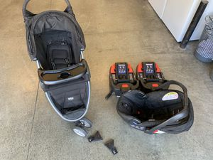 Britax complete travel system w/extras for Sale in Chino Hills, CA