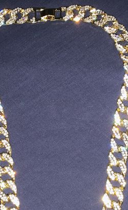 Iced Out 16K Gold Plated Chain for Sale in Denver,  CO