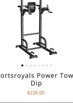 Power tower & Dip Station for Sale in Alexandria,  VA