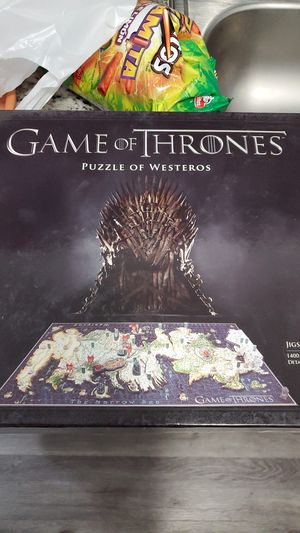 Game of thrones puzzle for Sale in Homestead, FL