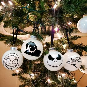 Glow In The Dark Nightmare Before Christmas Ornaments for Sale in Avondale, AZ