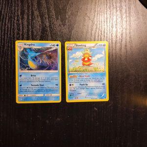 2 Rare Non Holo Pokemon Cards* for Sale in Franklin, IN