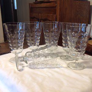 Antique parfait glasses for Sale in Reedley, CA