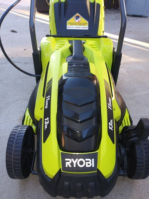 Ryobi 13 in 11 amp electric lawn mower corded new for Sale in Oak Glen, CA