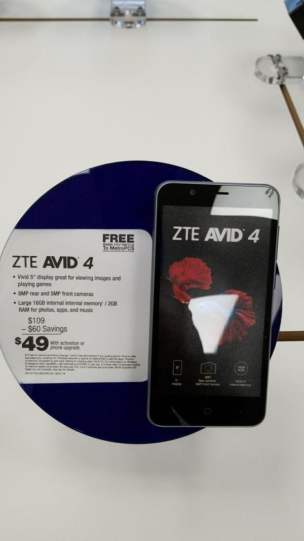 ZTE Avid 4