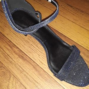 Michael Kors Strappy, Sparkly, Blue Heel for Sale in Hillsborough, NC