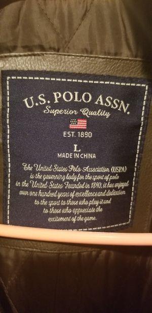 U.S. POLO ASSN Men's Leather Jacket for Sale in Denver, CO
