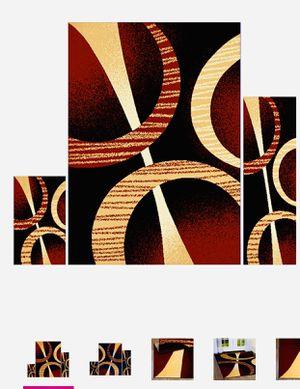 3 pieces rug set. Brand new. Use as living area,hallway, doormat or kitchen,doormat n dinning area for Sale in McLean, VA