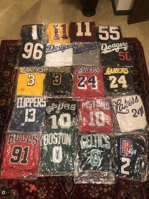 Sports Stitched Jersey's for Sale in Chesapeake, VA