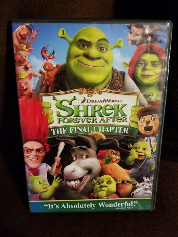 SHREK THE FINAL CHAPTER DVD