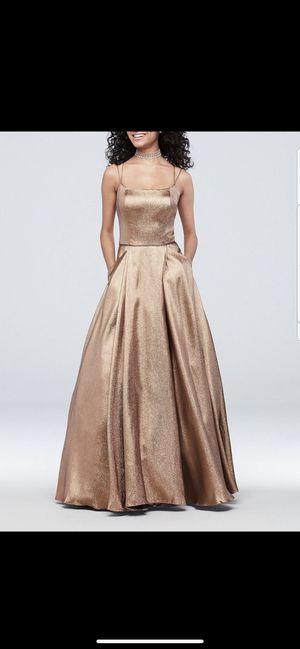 Gold copper dress for Sale in Fresno, CA
