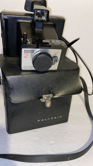 Vintage Polaroid square shooter camera with case for Sale in Dublin, OH