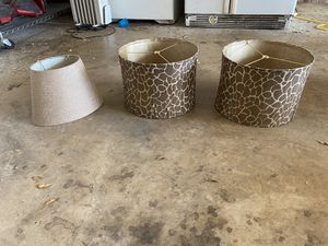 lamp shades for Sale in Corinth, TX