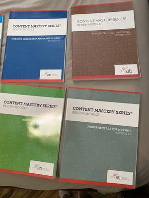 Nursing student books for Sale in Tampa, FL