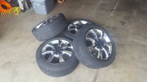 """17in. """"Inky"""" chrome rims for Sale in Marysville, WA"""