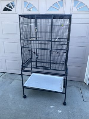 Bird cage + stand for Sale in Woodland, CA