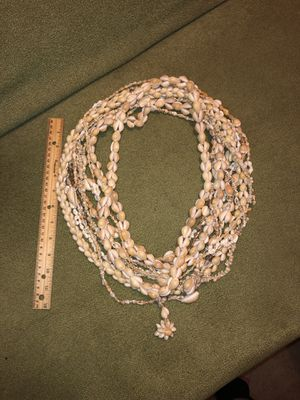 11 vintage shell 🐚 necklace Hawaiian Lei lot!, crafters, diy, restring beads? , beach wedding? for Sale in Portland, OR