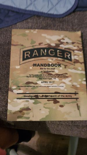 Ranger handbook for Sale in Fairless Hills, PA